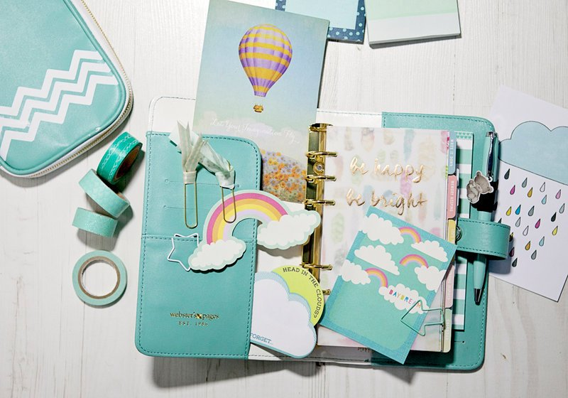 Teal Color Crush Planner