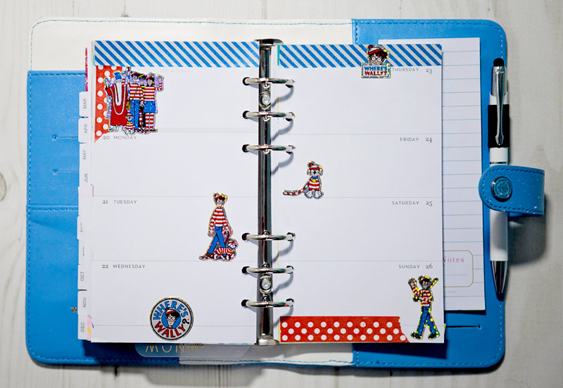 Blue Color Crush Planner from Websters Pages