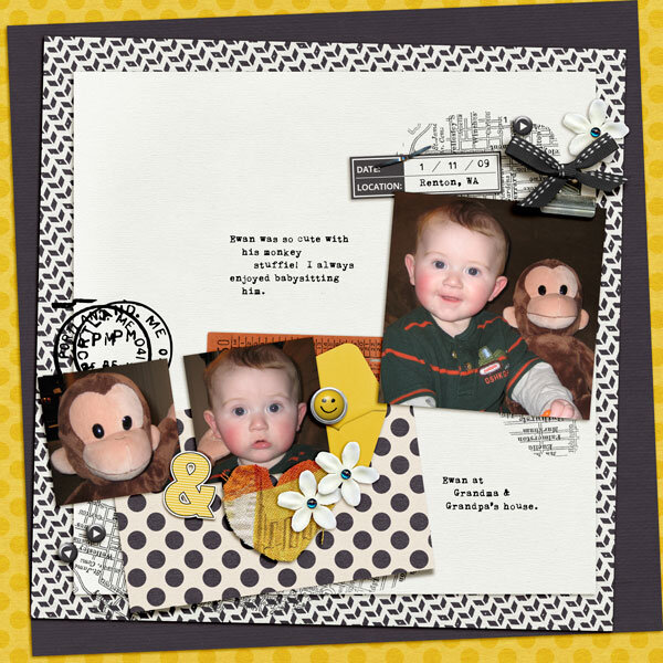 Ewan & His Monkey