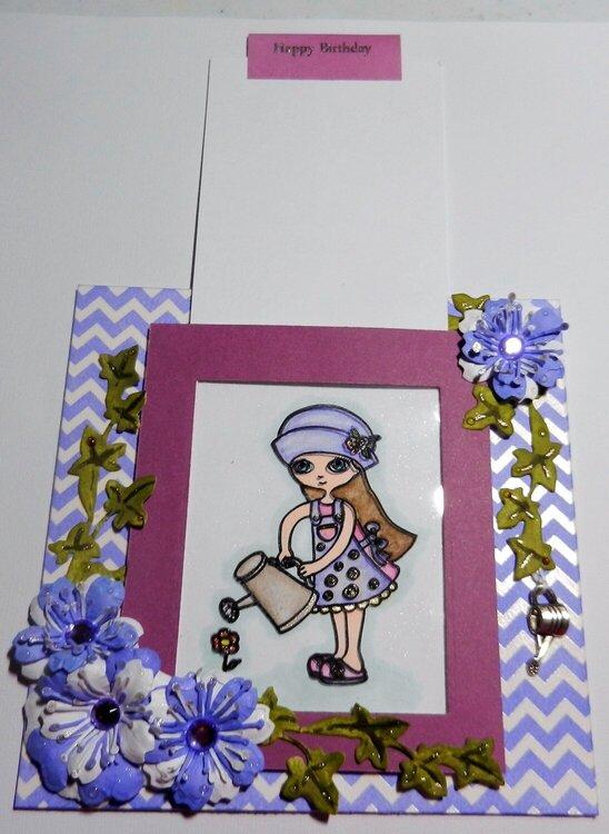 Magic Slider Birthday card