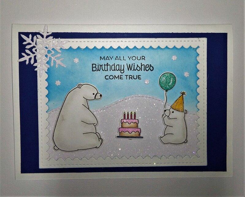 Birthday Wishes pop up card