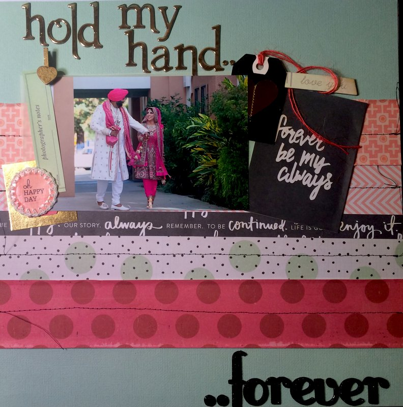 Hold my hand..Forever