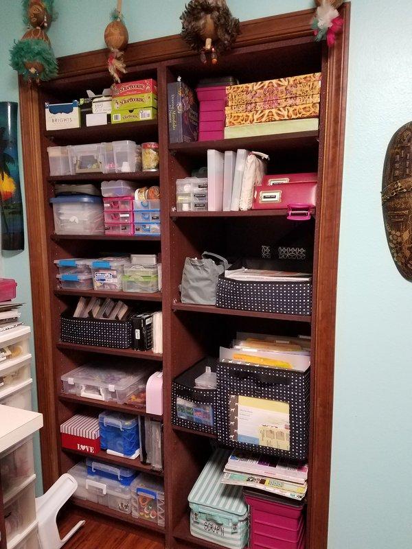 Custom-Made Craft Closet