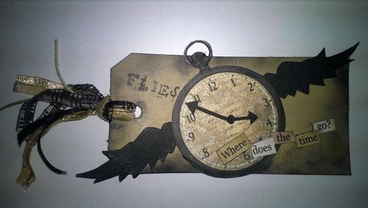 Time Flies Tag
