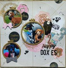 2 Happy Doxies