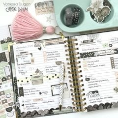 Carpe Diem Beautiful Spiral Planner
