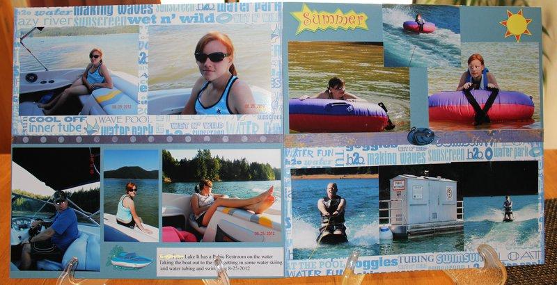 Water Skiiing and Tubing