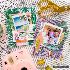 Post Cards with Photos - Crate Paper DT