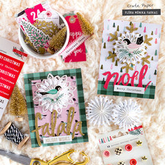 Xmas Cards - Crate Paper DT