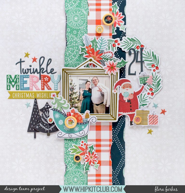 Christmas Wishes - Hip Kit DT