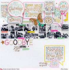 Goodbye 2017 - Pink Paislee Paige Evans DT
