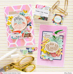 Fall cards - Pink Paislee Paige Evans DT
