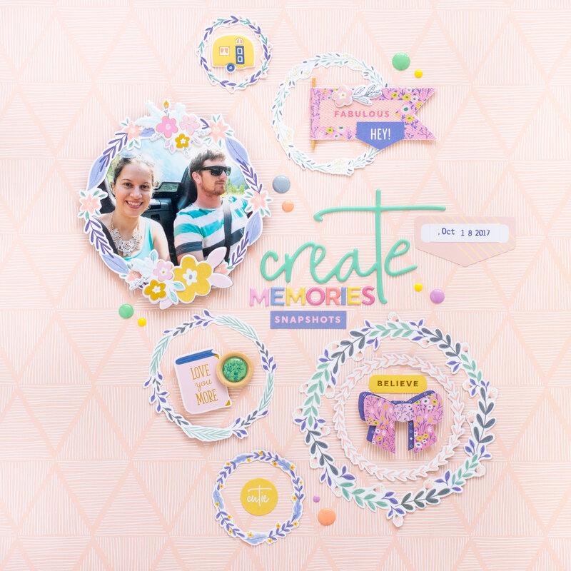 Create Memories - Pinkfresh Studio DT
