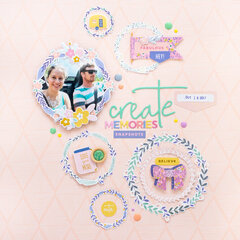 Create Memories - Pinkfresh Studio DT