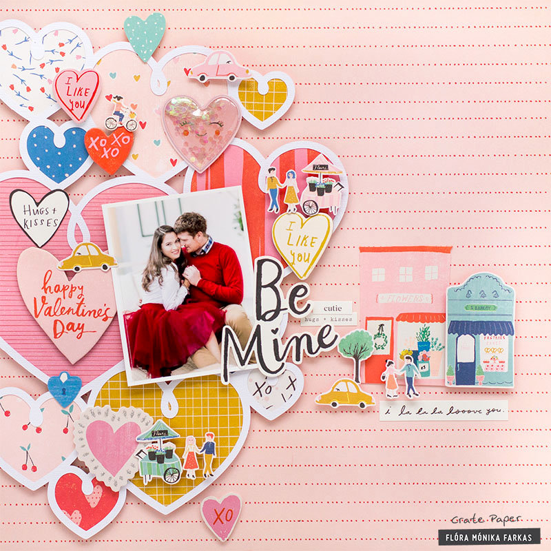 Be Mine - Crate Paper DT