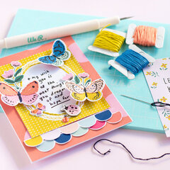 Stitched Card - We R Memory Keepers DT