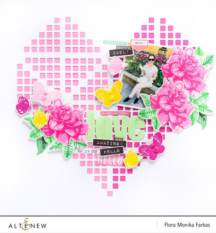 Love - Altenew DT