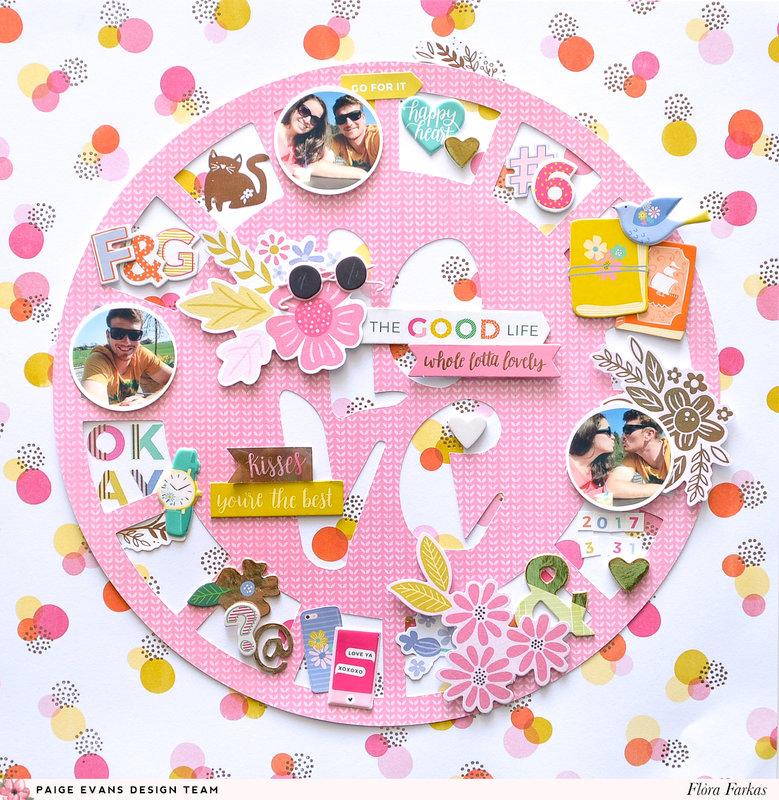 Circles - Pink Paisle Paige Evans DT