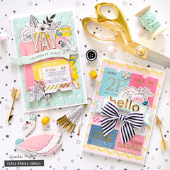 Birthday Cards - Crate Paper DT