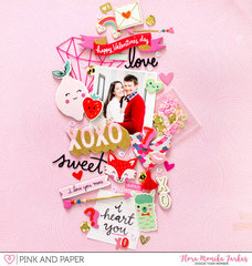 XOXO - Pink and Paper DT
