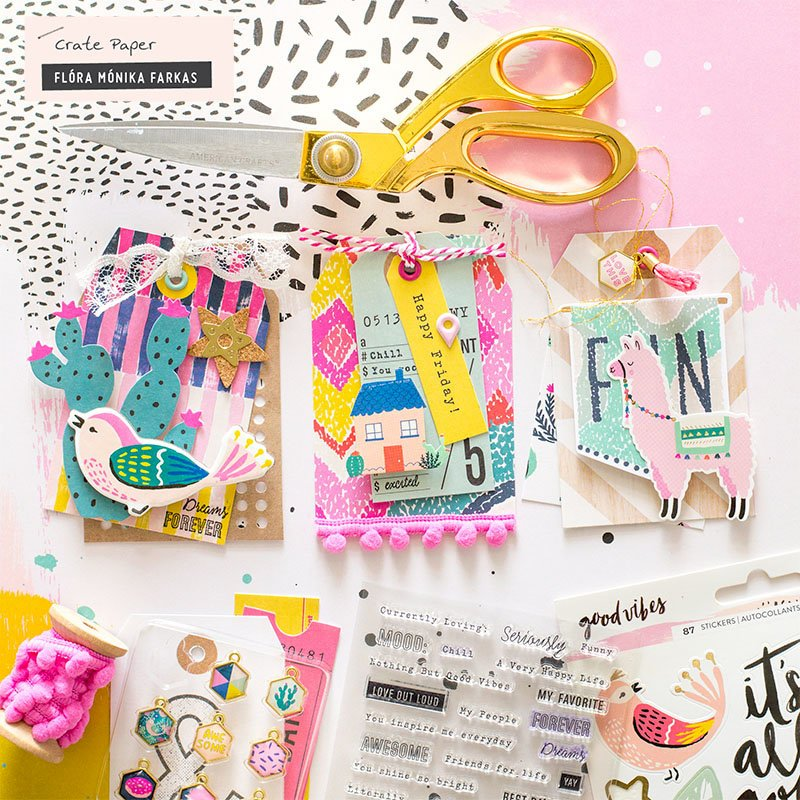 Gift Tags - Crate Paper DT