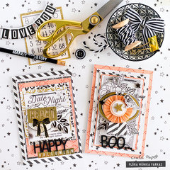 Halloween Cards - Crate Paper