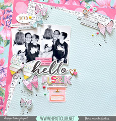 Hello Kisses - Hip Kit Club DT