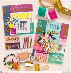 Vellum Cards - Pink Paislee Paige Evans DT