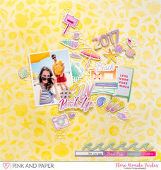 Beach Life - Pink and Paper DT