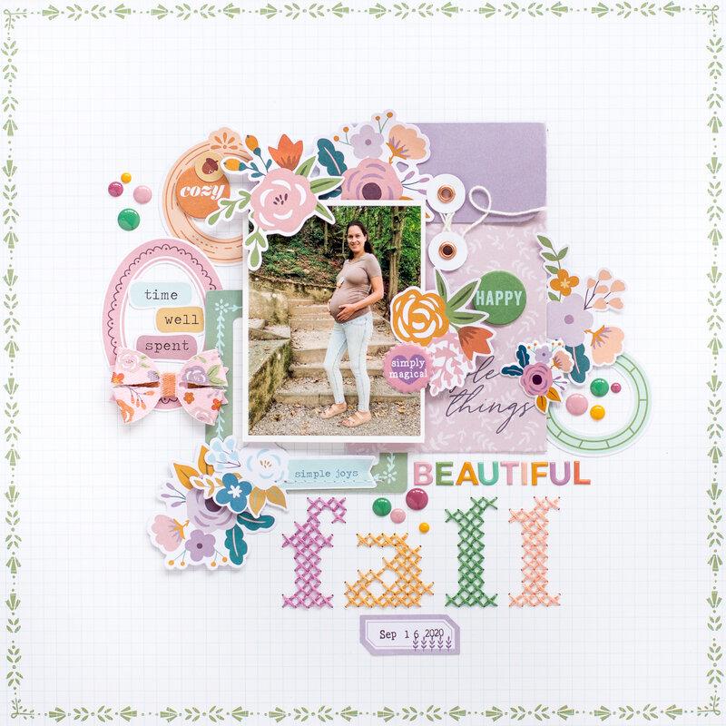 Beautiful Fall - Pinkfresh DT