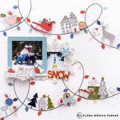 Snow - Pinkfresh Studio DT