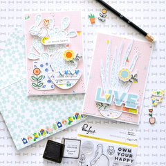 Dream On cards - Pinkfresh Studio DT