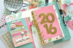 My Webster's Pages planner with My Mind's Eye On trend 2
