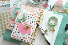 DIY pocket for planner+tutorial