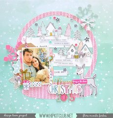 Snow Globe layout - Hip Kit Club DT