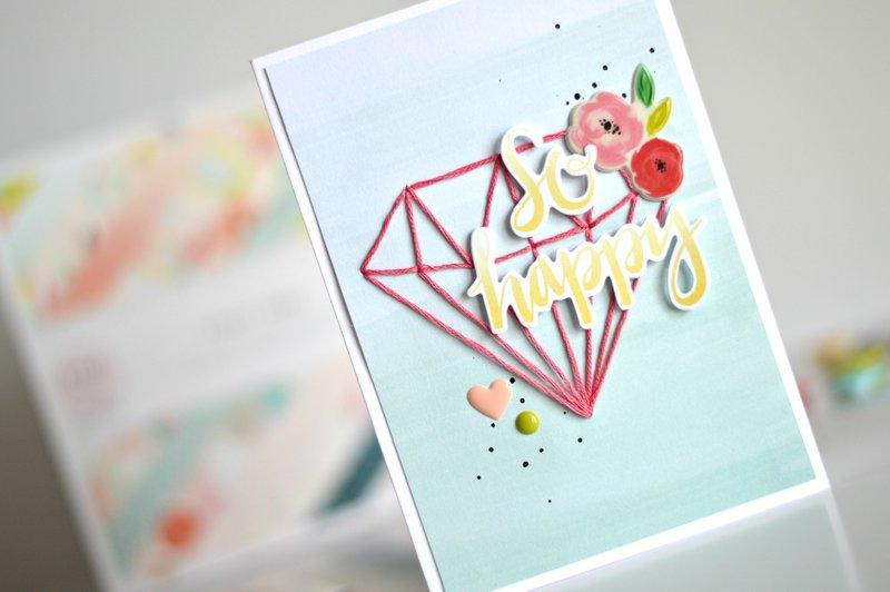 Fancy Free string art card