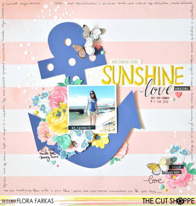 Sunshine Love - The Cut Shoppe DT