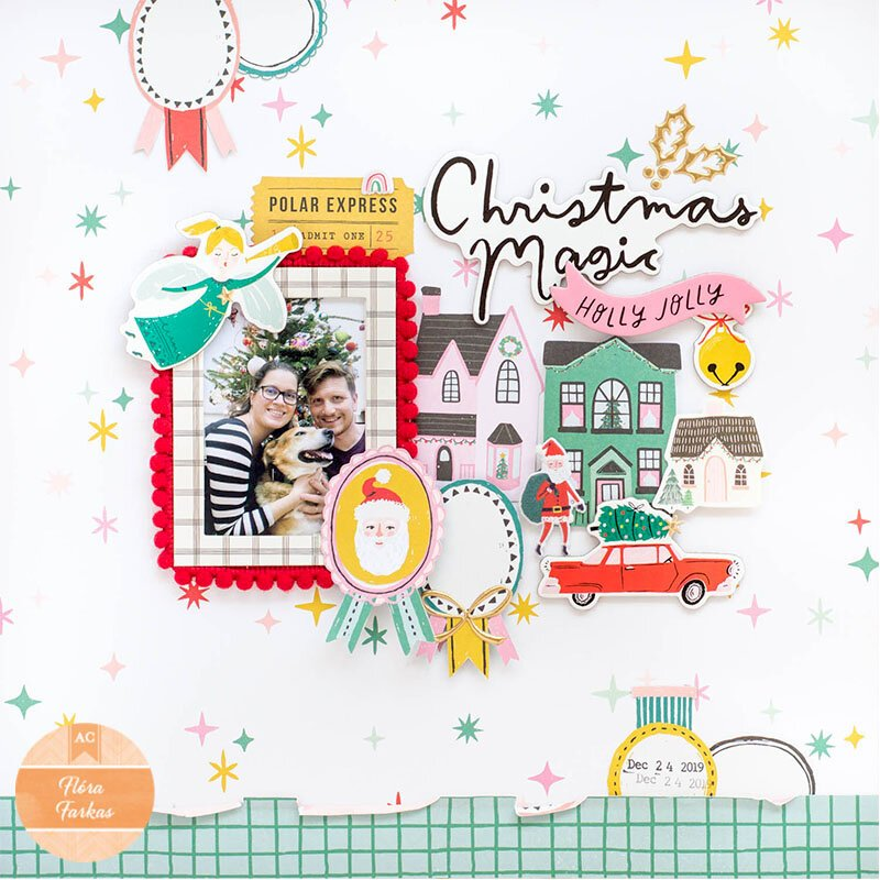 Christmas Magic - American Crafts DT