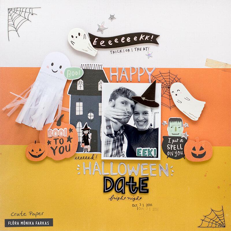 Halloween Date - Crate Paper DT
