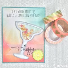Margarita Shaker Card