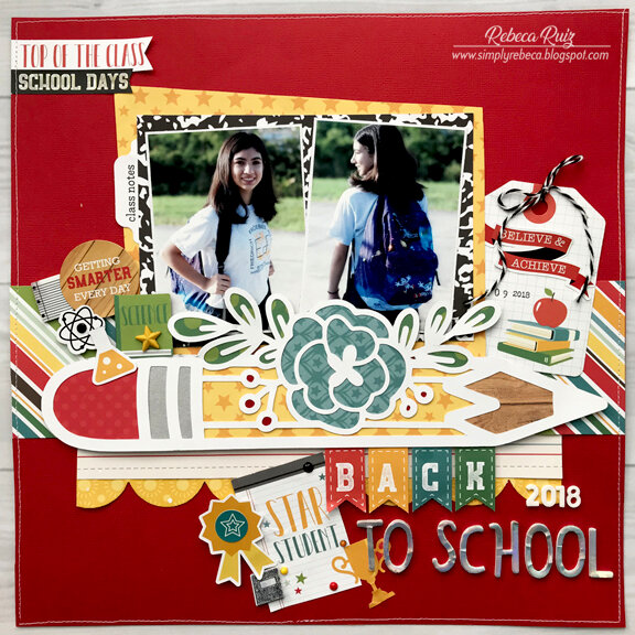 Back To School 2018 Layout