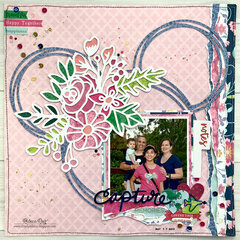 Capture Family Memories Layout