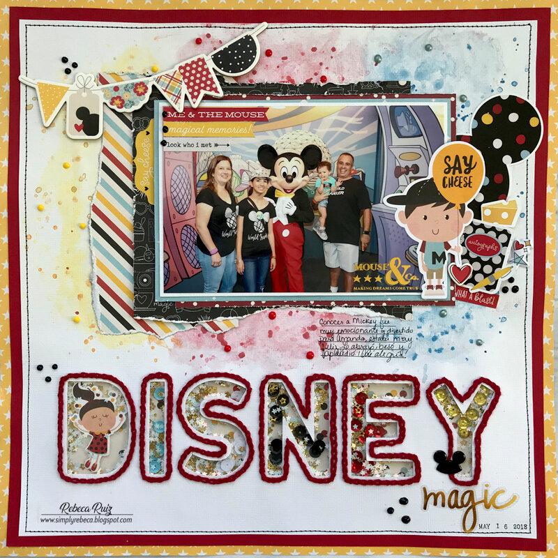 Disney Magic Layout