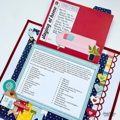 Family Time Layout with Hidden Journaling