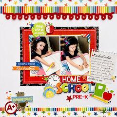 Home School Pre-K Layout