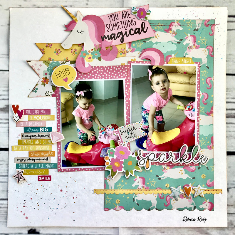 Sparkle Layout