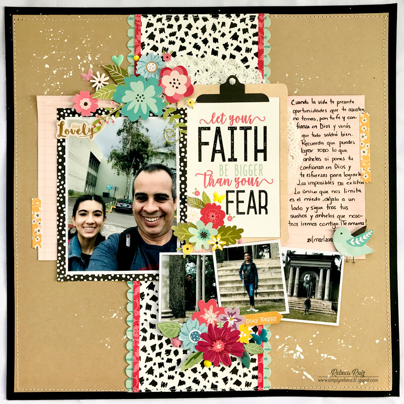 Let Your Faith Be Bigger Layout