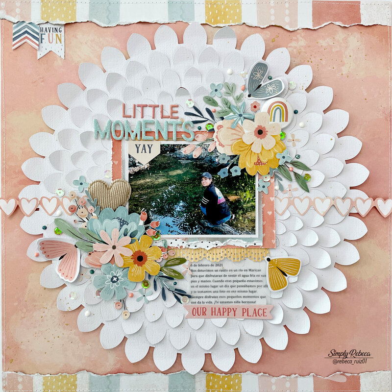 Little Moments Layout