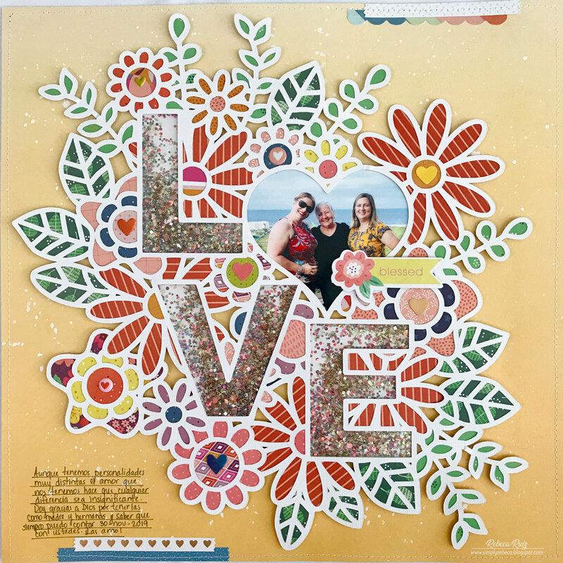 LOVE (Shaker) Layout