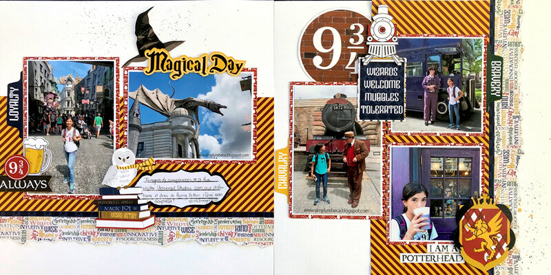 Magical Day Layout